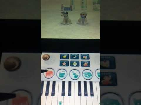 This is what you make your Nintendogs howl with keyboard