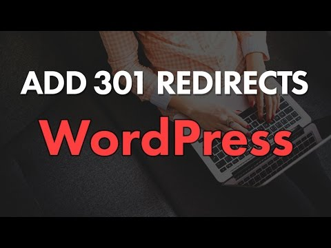 How to Add 301 Redirect with WordPress