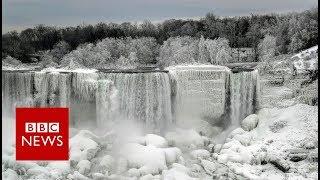 Niagara Falls becomes a