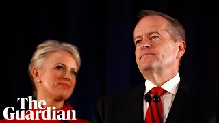 Bill Shorten concedes defeat in Australian election: 'Carry on the fight'