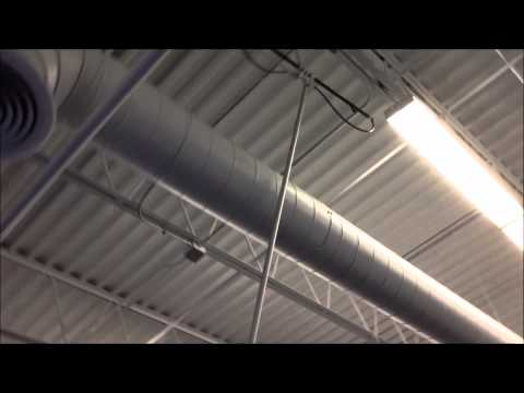 Commercial Ceiling Dusting