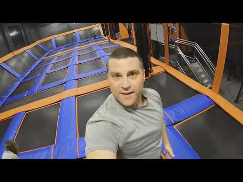 Bouncing with the family