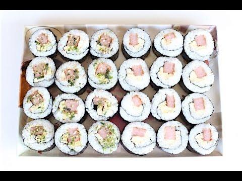 Spam and Egg Kimbap