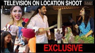 """Television"" On Location Shoot | Kulwinder Billa | Mandy Takhar | DAAH Films"