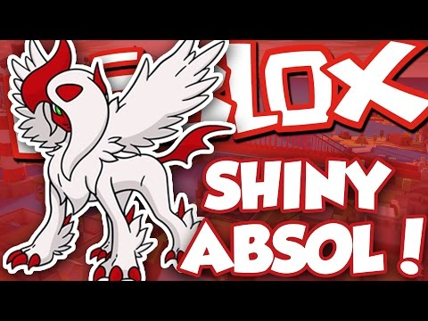 GETTING SHINY ABSOL!! / Pokemon Brick Bronze / Roblox Adventures