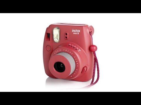 Fujifilm Instax Mini Instant Film Camera w/Photo Paper