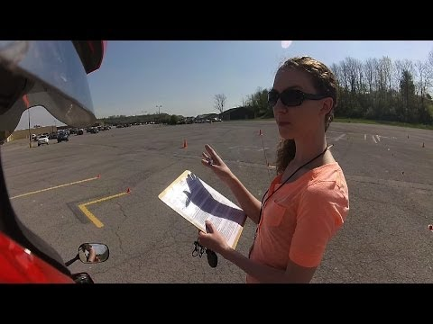 Motorcycle Skills Test - PASSED! POV + Thoughts
