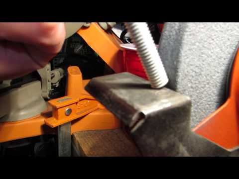 All-thread (threaded rod) grinding tip