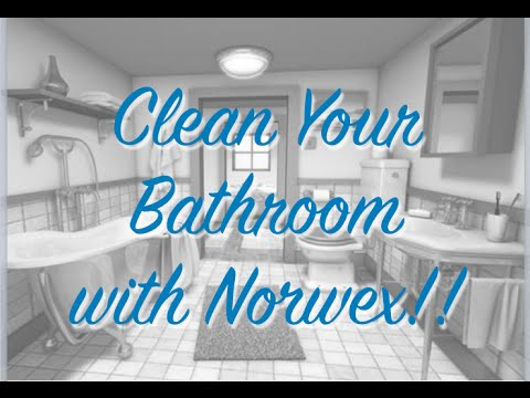 Deep Clean Your Bathroom with Norwex!!