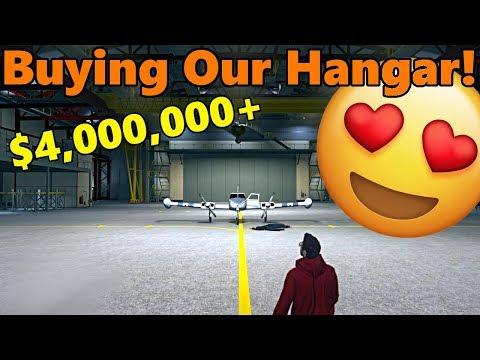 GTA 5 | Smuggler's Run DLC | Buying The Largest, $4,000,000+ HANGAR!! + Cuban 800 FULL CUSTOMIZATION