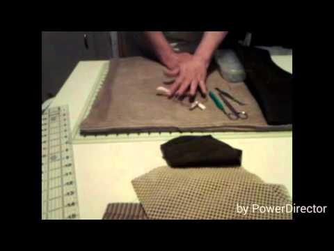 Sewing machine pocket mat