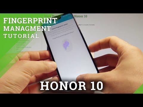 How to Add Fingerprint on Honor 10 - Fingerprint Sensor Tutorial |HardReset.Info