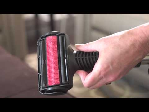 Lint and Pet Hair Brush Central Vacuum Attachment