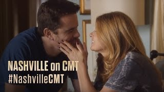 NASHVILLE on CMT | Connie Britton and Charles Esten on Rayna and Deacon