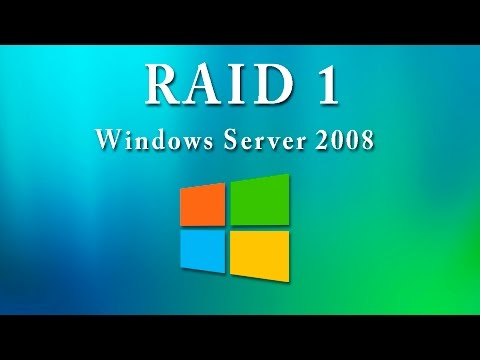 Crear RAID 1 en Windows 2008 Server