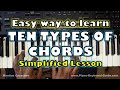 Ten Types Of Piano Chords That You Should Know And How To Form Them