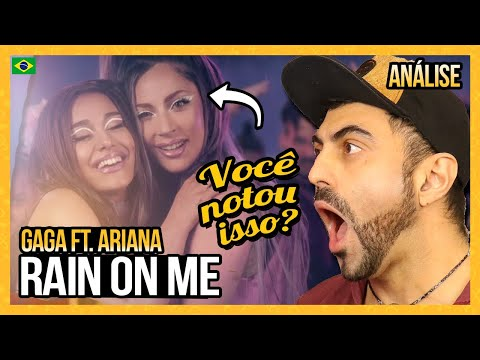 ANALISANDO Lady Gaga, Ariana Grande - Rain On Me (Official Music Video)