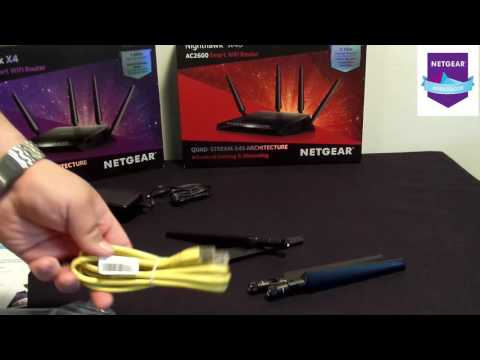 Netgear Nighthawk X4S Router Unboxing and Walthrough!