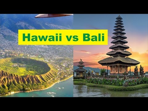 Hawaii vs Bali, Which Island Escape Is The BEST
