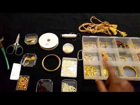 Jewellery making materials in Tamil