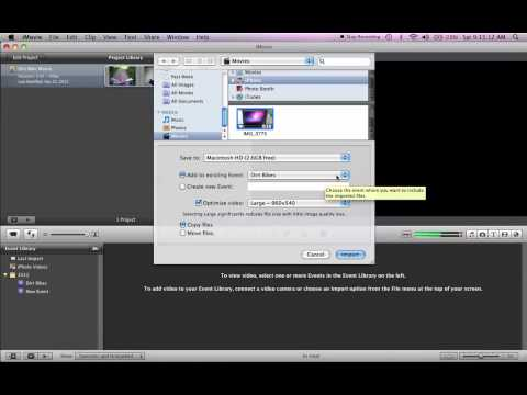 How to import iPhoto Videos to iMovie, Fast!