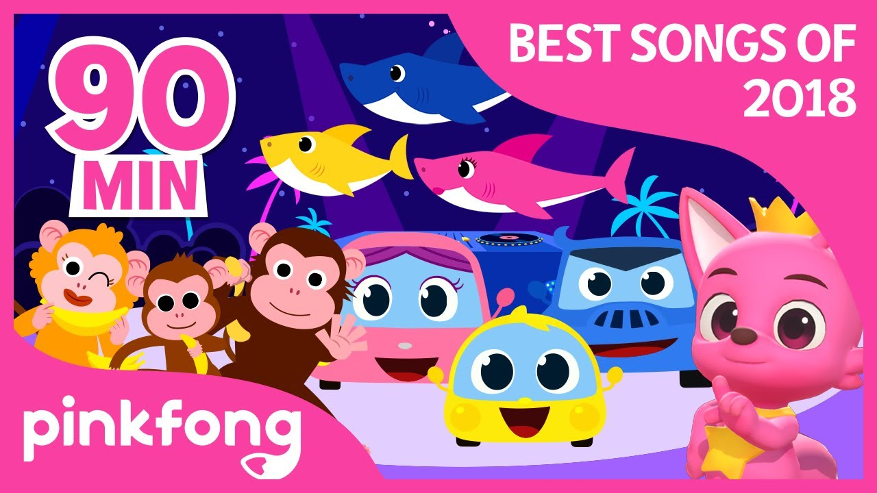 Baby Shark and more | Best Songs of 2018 | +Compilation | Pinkfong Songs for Children