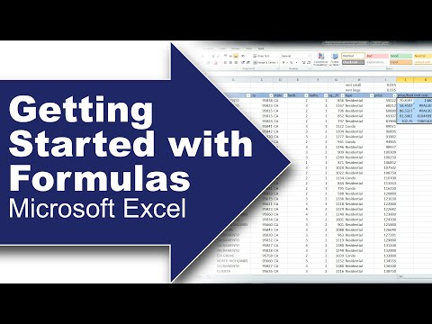 Using Formulas or Equations in Excel