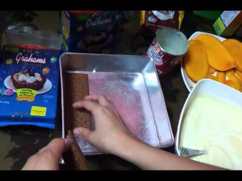 How to make Mango Graham Cake