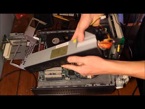 Hp Compaq D530 SFF Power Supply (PSU) Swap Tutorial