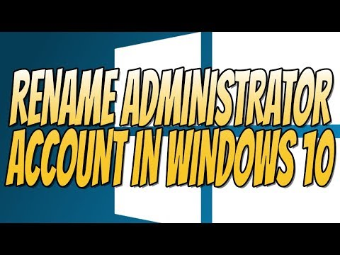 How To Rename The Administrator Account Name In Windows 10 Using CMD