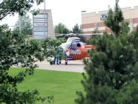 CARE FLIGHT (MOTOR CYCLE ACCIDENT)