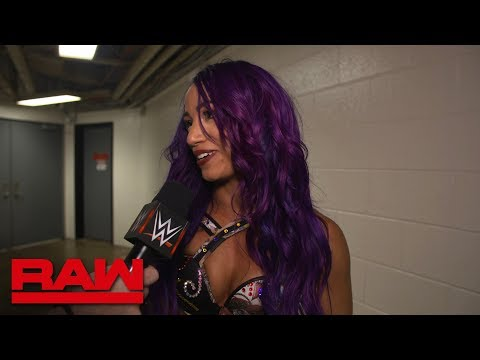 Sasha Banks basks in her Gauntlet Match victory: Raw Exclusive, May 28, 2018