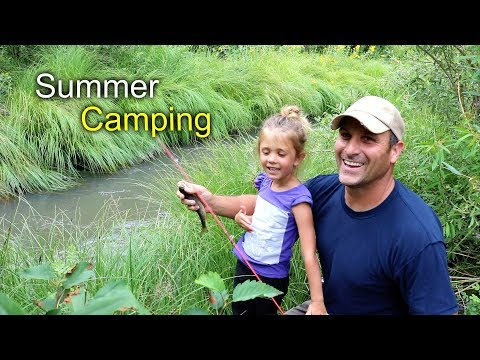 Summer Camping Trip!  - Fishing, Solar cooking, Golf, toilet paper plant...?
