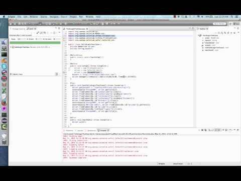 Selenium WebDriver Java Test Automation using Google Chrome, Opera, and Safari browser
