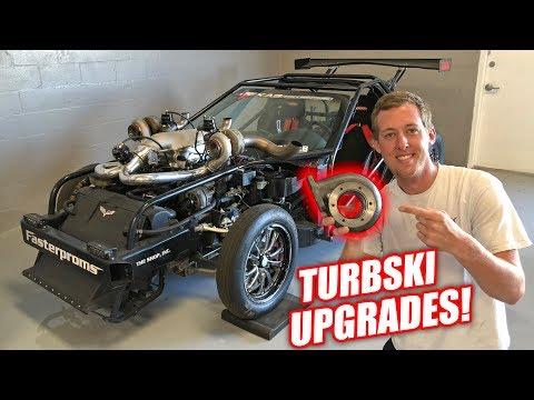 Changing Up Leroy's Turbos! *Twin Turbski Alert*