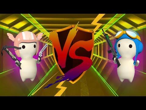 HITMAN VS Sup.  Human  - Assault Map [MilkChoco Clan Battle]