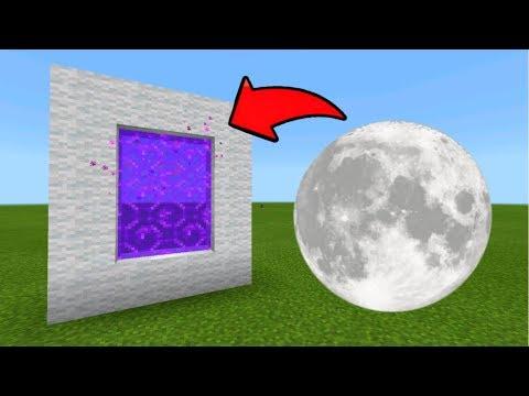 Minecraft Pe Portal To The MOON Dimension - Mcpe Portal To The MOON!!!