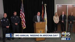 "TODAY: ""Missing in Arizona Day"""