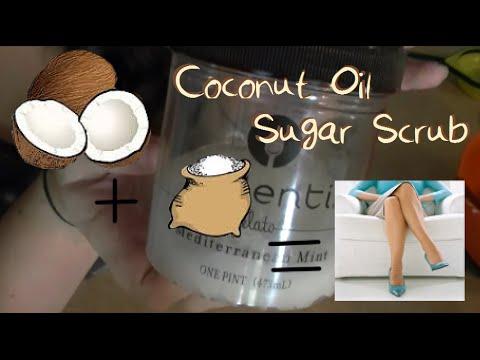 DIY: Coconut Oil Sugar Scrub