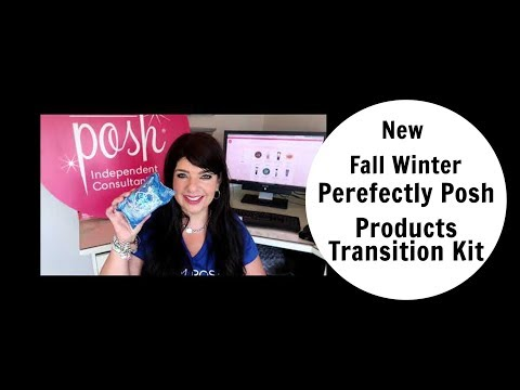 Perfectly Posh Fall Winter products  Transition Kit