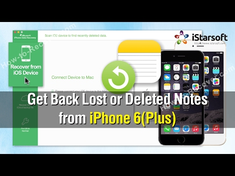 How to Get Back Lost or Deleted Notes from iPhone 6(Plus)