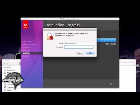 Adobe CS5.5 Retail DVD Install