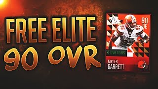 HOW TO GET A FREE 90 OVR ELITE IN MADDEN MOBILE 18! New Rising Stars Free Elite Player Tutorial