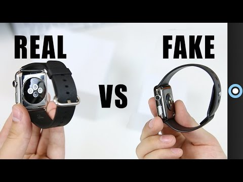Fake vs Real Apple Watch!