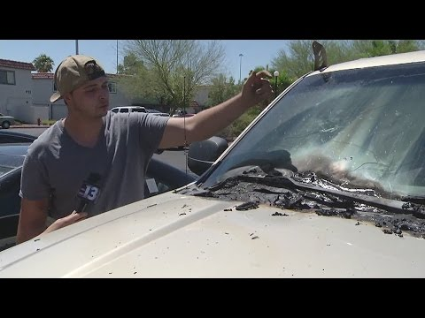 Man says his flag burned on 4th of July