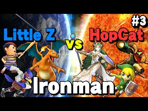 Little Z vs HopCat - Smash Bros. Ironman (Part 3)
