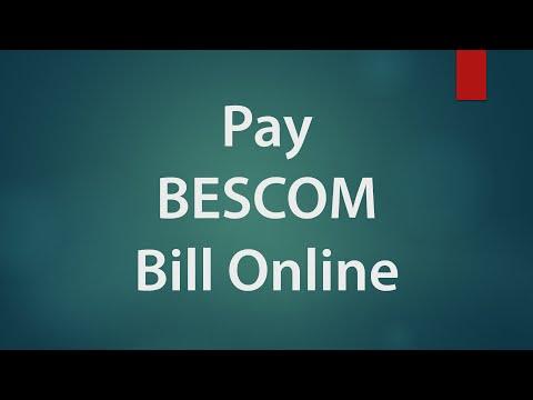 BESCOM Online Bill Payment using Credit Card