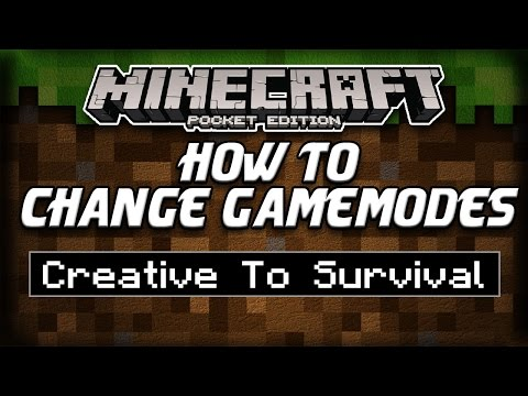 How To Change Gamemodes In Minecraft Pocket Edition 0.11.0 & Up