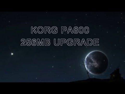 KORG PA800 256MB UPGRADE