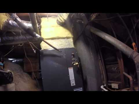 Clogged evaporator coil change out.